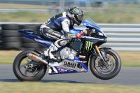 Graves Yamaha's Cameron Beaubier hung on to win his second straight career MotoAmerica Superbike Championship crown in New Jersey, even though he retired from the final race. [Photo: Colin Fraser]