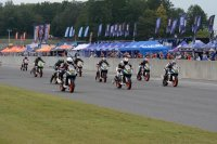 KTM Cup Race One Start on Saturday afternoon at Barber Motorsports Park. [Photo: Colin Fraser]