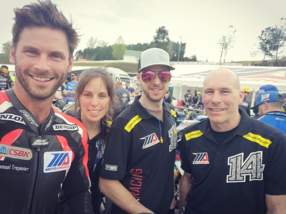 team-news-blysk-racing-competes-at-motoamerica-season-opener